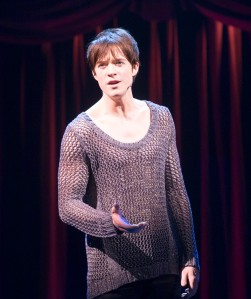 """""""Thunderclouds have their lightning; Nightingales have their song...don't you know I want my life to be something more than long?"""" Matthew James Thomas is """"Pippin"""""""