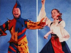 """""""The Merry Man & The Maid"""": Alfred Drake Is Jack Point & Barbara Cook Is Elsie Maynard"""
