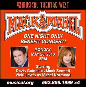 """Movies Were Movies"" With Musical Theater West's Benefit Production On May 20th 2013"