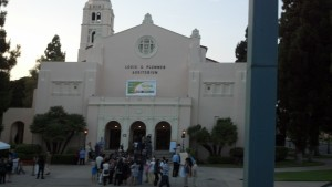 The Historic Plummer Auditorium is located at 201 East Chapman Avenue, in Fullerton, California.