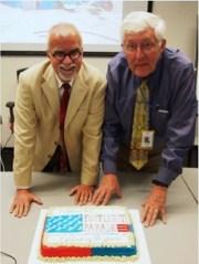 "Bill Rudman & Robert Conrad Celebrate 30 Woderous Years Of""Footlight Parade""!"