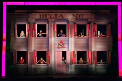 """We Are The Daughters Of Delta Nu..."""