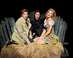 "Fredrick, ""Eye-gore"" & Inga have a ""Roll In The Hay"""