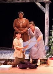 "Gifts From The Heart: Buddy & Sook Share Holiday Kites With Amber Mercomes As ""Anna"""