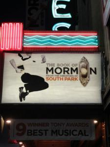 """The Book Of Mormon"" At The Famous Pantages Theater In Hollywood, CA.  Jan. 21-May 11 2014"