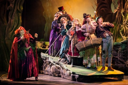 "3-D Theatrical's ""Into The Woods"", May 2-18, 2014 At The Plummer Auditorium In Fullerton, CA"