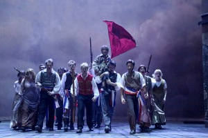 """It is the music of a people who will not be slaves again..."" The cast of McCoy-Rigby Entertainment's ""Les Miserables"""