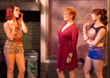 """No Me Diga--Tell Me Something I Don't Know!"" Vanessa (Chelsea Baldree) Daniela (Sonja Taylor) & Carla (Angeline Mirenda)"
