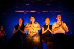 """Requiem Aeternum Dona Evita"" (Monica Belo, Danielle Lopez, Katherine Ljubis & Zack Martinez)"