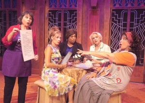 """We Were Going To Change The World; Now, 'Change' Has A Whole New Meaning!"" The Cast Of ""Menopause: The Musical"" At ""The Laguna Playhouse"", Laguna Beach CA."