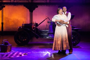 """The Wheels Of A Dream Are Turning For Us Girl, And The Times Are Starting To Roll"" Rufus Bonds Jr. Is Coalhouse Walker And Daebreon Poiema Is Sarah"