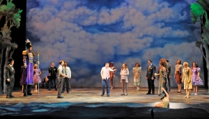 """Don't depend on other people to put paper next to pen--be the Hero of your story"" The cast of MTW's ""Big Fish"""