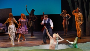 """""""Be the Hero of your story while you may--be the guy who gets the girl and saves the day..."""" Jeff Skowron and the cast of Musical Theatre West's """"Big Fish"""""""