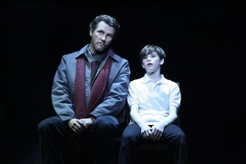 """We will go and we will shine and we will go and seize the time."" David Atkinson Is Jackie Elliot With Mitchell Tobin As His Son, Billy"