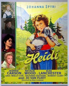 """""""The roses blowing wild, the giant apple tree--await their favorite child anxiously...Heidi."""""""