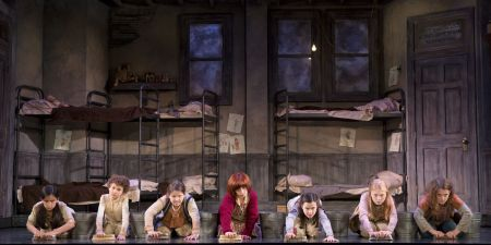""" 'Stead of treated, we get tricked! 'Stead of kisses, we get kicked!"" (""Annie"" And The Other Orphans Bemoan Their ""Hard Knock Life"") Issie Swickle Annie   LYNN ANDREWS Miss Hannigan   GILGAMESH TAGGETT Oliver Warbucks   ASHLEY EDLER Grace Farrell   GARRETT DEAGON Rooster Hannigan   LUCY WERNER Lily   Allan Ray Baker FDR   AMY BURGMAIER Mrs. Pugh, Ensemble, u/s Miss Hannigan   CAMERON MITCHELL BELL Bert, Ensemble   ANGELINA CARBALLO July, u/s Molly   JOHN CORMIER Ickes, Ensemble, u/s Rooster Hannigan   BRIAN COWING Bundles, Ensemble, u/s FDR   Adia Dant Pepper, u/s Annie   TODD FENSTERMAKER Drake, Ensemble, u/s Warbucks, FDR   CHLOE HORNER Swing   LILLYBEA IRELAND Tessie   EVAN MAYER Swing   JAKE MILLS Ensemble, u/s Bert   MEGHAN SEAMAN Ensemble, u/s Lily   HANNAH SLABAUGH Star to Be, Ensemble   SYDNEY SHUCK Kate   LILY EMILIA SMITH Ensemble, u/s Grace Farrell   LILLY MAE STEWART Molly   CHLOE TISO Swing   ISABEL WALLACH Duffy   Sunny Sandy   MACY u/s Sandy - See more at: http://anniethemusical.com/team.php#sthash.16bjwTB8.dpuf"