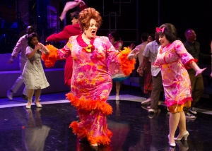"""Hey Tracy, hey baby, look at us! Where is there a team that's half as fabulous?!"" Joe Tish As ""Edna Turnblad"" And Taylor Hartsfield As ""Her"" Daughter, ""Tracy"" Are 'Welcoming The Sixties'"