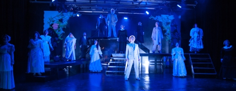 """""""High on a hill sits a big old house with something wrong inside it. Someone died, and someone's left alone and can't abide it!"""" The Cast of One More Productions' """"The Secret Garden"""""""