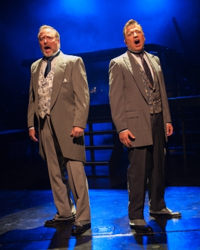 """""""She has her eyes! The girl has Lily's hazel eyes, those eyes that closed and left me all alone."""" Duane Thomas as Archibald Craven and Chris Peduzzi as his brother Neville remember """"Lily's Eyes"""""""