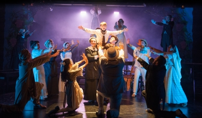 """""""Spirits are above! Charms aloft on high! Sweep away the storm comin' 'cross the sky!"""" Sophia Scarsi as """"Mary"""" and Connor Dapkus as """"Colin"""" are joined by Rebecca Silverman as """"Martha"""", Brandon Taylor Jones as """"Dickon"""" and """"The Dreamers"""" to raise up a miracle!"""