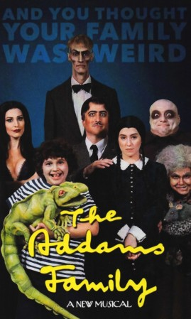 "3-D Theatricals Presents ""The Addams Family"" October 10-25 In Fullerton, CA.; October 31-November 8, 2015 In Redondo Beach, CA. (www.3dtshows.com)"