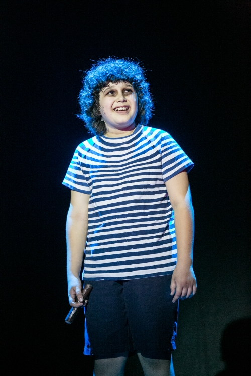 Remember Pugsley from Addams Family? This is what Jimmy