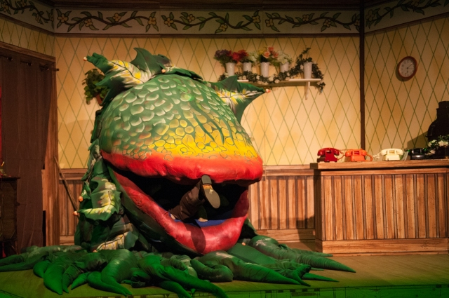 "1.""One More Productions"" Presents ""Little Shop Of Horrors"" October 10-November 1, 2015, At ""The Gem Theatre"" In Garden Grove, CA. (www.onemoreproductions.com)"