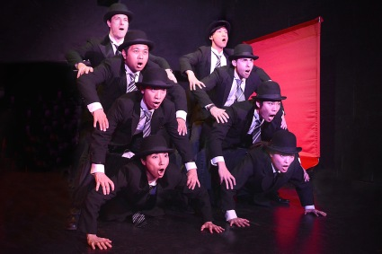 """We Are Ministers of Japan!"" (The ensemble of Robert Allan Ackerman's ""Blood"")"