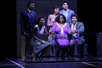 """It's more than you. It is more than me…no matter what we are, we are a family!"" Scott A. People as Curtis, Jasmin Richardson as Deena, Brittney Johnson as ""Lorrell"", David LaMarr as ""Jimmy Early"" and John Devereaux as ""C.C."" give Moya Angela as ""Effie"" some startling news about her future with ""The Dreams"""