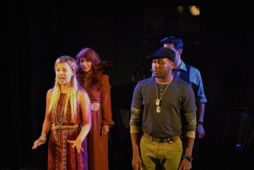 """""""Hear my song--it'll help you believe in tomorrow! Hear my song--it'll show you the way you can shine! Hear my song--it was made for the times when you don't know where to go"""" The Cast of The Chromolume Theatre's 2016 Production of """"Songs For A New World"""" invite audiences to """"Hear My Song"""""""