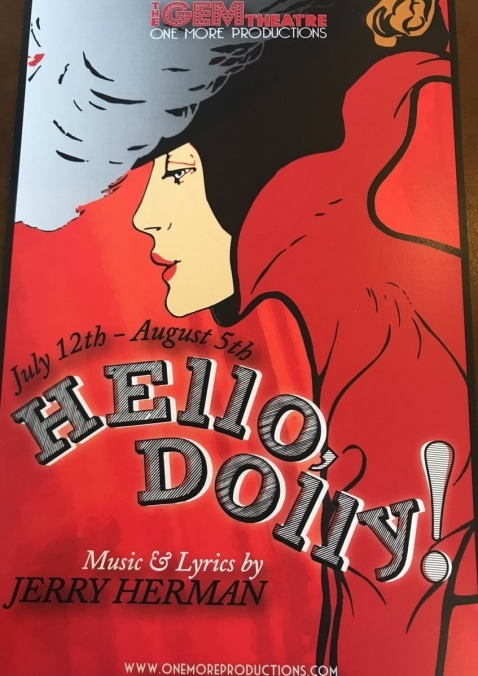 Hello Dolly Title Card